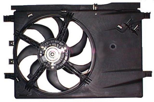 Вентилятор радиатора охлаждения Opel Corsa (2006-2014)
