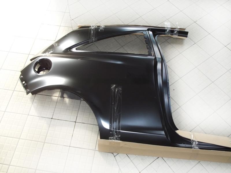 Крыло заднее правое Opel Corsa (2006-2014)
