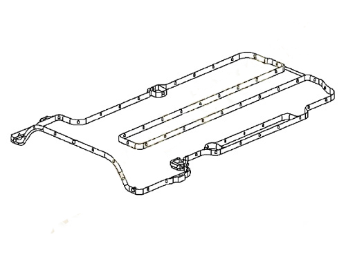 Герметик клапанной крышки Opel Astra J (2011-2015)